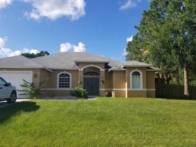 901 SW Versailles Avenue, Port Saint Lucie, FL 34953 - MLS#: RX-10457592