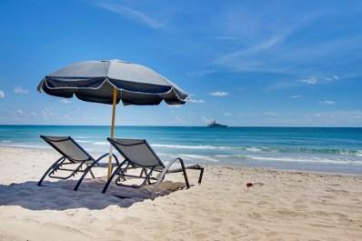 2700 N Ocean Drive UNIT 801-A, Singer Island, FL 33404 - MLS#: RX-10457656
