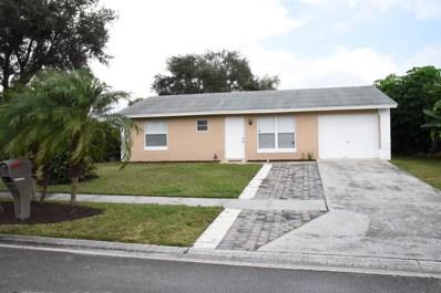 5182 Blueberry Hill Avenue, Lake Worth, FL 33463 - MLS#: RX-10458059