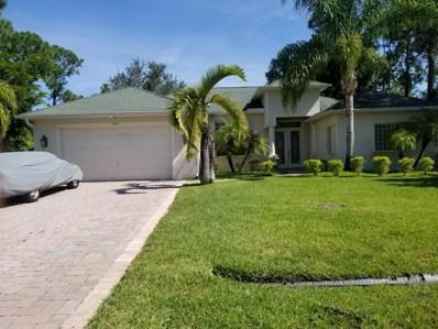 1737 SW Cannon Avenue, Port Saint Lucie, FL 34953 - MLS#: RX-10458083