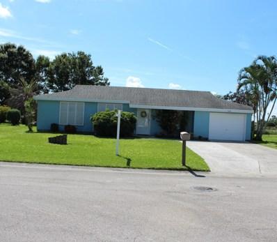 1438 SE Oakmont Lane, Port Saint Lucie, FL 34952 - MLS#: RX-10458243