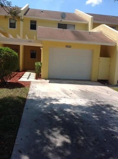 1633 Woodbridge Lakes Circle, West Palm Beach, FL 33406 - MLS#: RX-10458366