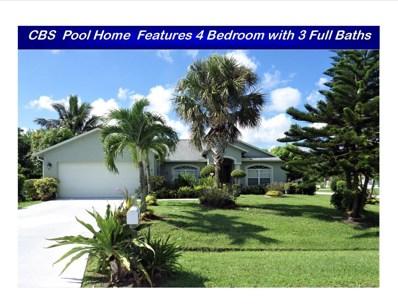 1042 SW Janette Avenue, Port Saint Lucie, FL 34953 - MLS#: RX-10458372