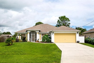 485 SW Dahled Avenue, Port Saint Lucie, FL 34953 - MLS#: RX-10458742