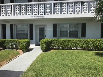 1131 Violet Terrace UNIT 102, Delray Beach, FL 33445 - MLS#: RX-10458804