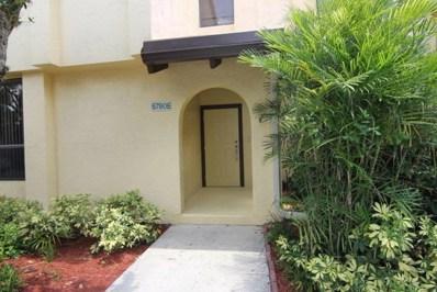 5790 Fox Hollow Drive UNIT E, Boca Raton, FL 33486 - MLS#: RX-10458928