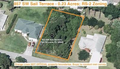 857 SW Sail Terrace, Port Saint Lucie, FL 34953 - MLS#: RX-10459113