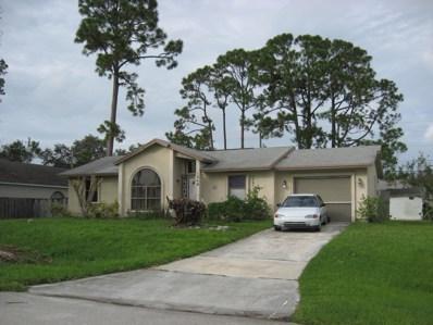 1549 SW Leisure Lane, Port Saint Lucie, FL 34953 - MLS#: RX-10459186