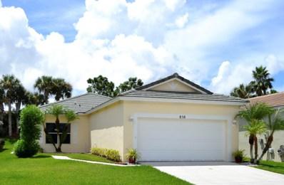 858 SW Rocky Bayou Terrace, Port Saint Lucie, FL 34986 - MLS#: RX-10459653