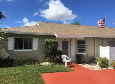 8831 Rheims Road UNIT A, Boca Raton, FL 33496 - MLS#: RX-10460202