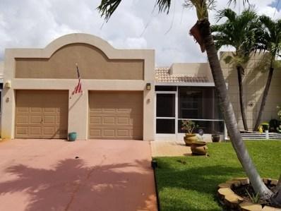 9071 Tracy Court UNIT 5, Boca Raton, FL 33496 - MLS#: RX-10460223
