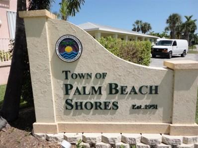 340 Inlet Way UNIT 16, Palm Beach Shores, FL 33404 - MLS#: RX-10460319