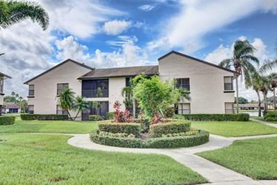 8565 Boca Glades Boulevard W UNIT H, Boca Raton, FL 33434 - MLS#: RX-10460366