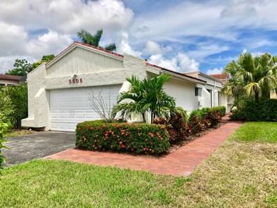 5506 Ainsley Court, Boynton Beach, FL 33437 - MLS#: RX-10460376