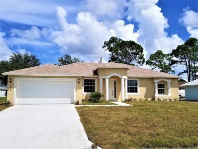 2849 SW Giralda Street, Port Saint Lucie, FL 34953 - MLS#: RX-10460697