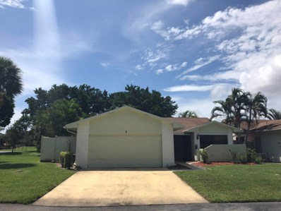 1 Cambridge Place, Boynton Beach, FL 33426 - MLS#: RX-10460939