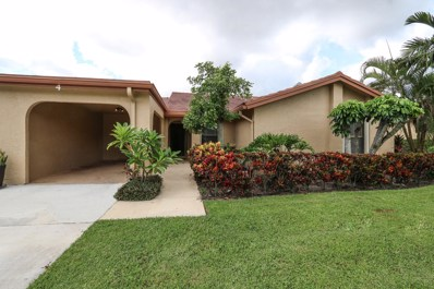 5835 Forest Grove Drive UNIT 4, Boynton Beach, FL 33437 - #: RX-10460962