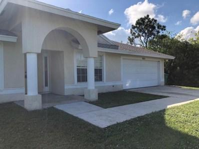 5857 NW Cullom Circle, Port Saint Lucie, FL 34986 - MLS#: RX-10461082