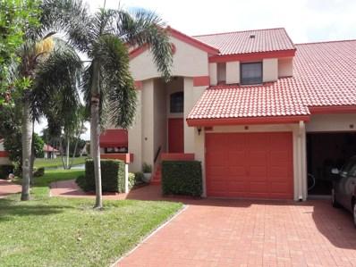 7689 Lexington Club Boulevard UNIT A, Delray Beach, FL 33446 - MLS#: RX-10461092