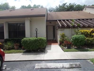 7678 Bend Way UNIT B, Lake Worth, FL 33467 - MLS#: RX-10461202
