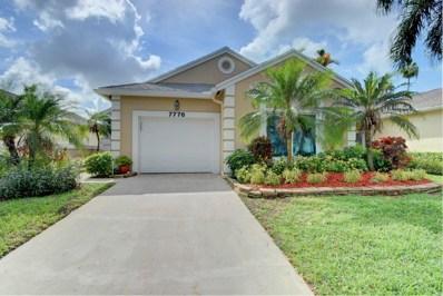 7776 Mansfield Hollow Road, Delray Beach, FL 33446 - MLS#: RX-10461343