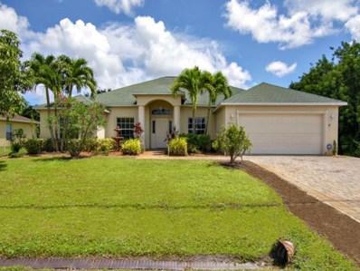 3513 SW San Benito Street, Port Saint Lucie, FL 34953 - MLS#: RX-10461366