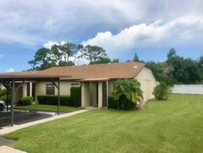 6026 Indrio Road UNIT N6, Fort Pierce, FL 34951 - MLS#: RX-10461699