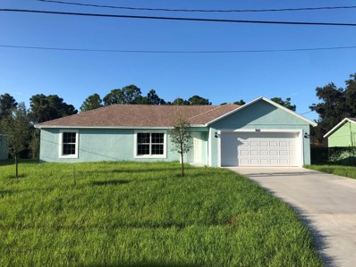 962 SW Provincetown Lane, Port Saint Lucie, FL 34953 - MLS#: RX-10461764