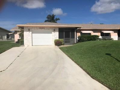 13662 Cord Way, Delray Beach, FL 33484 - MLS#: RX-10461787