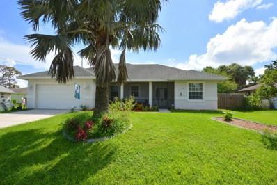 1719 SW Beeker Street, Port Saint Lucie, FL 34953 - MLS#: RX-10461808