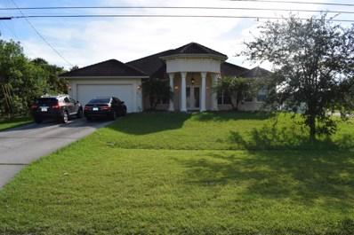 2260 SW Savage Boulevard, Port Saint Lucie, FL 34953 - MLS#: RX-10462008