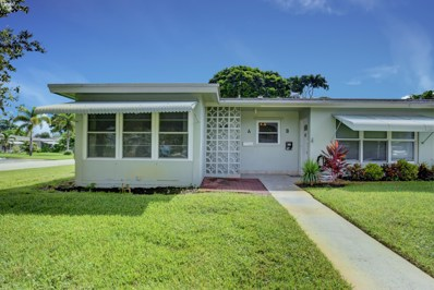 640 High Point Boulevard N UNIT A, Delray Beach, FL 33445 - MLS#: RX-10462047