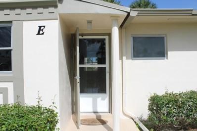 2853 W Crosley Drive UNIT E, West Palm Beach, FL 33415 - MLS#: RX-10462122