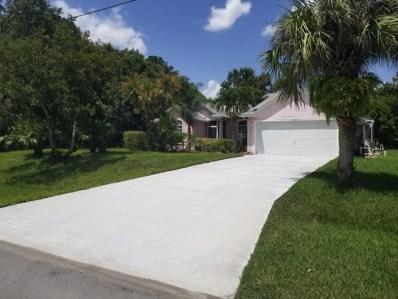 1956 SW Aladdin Street, Port Saint Lucie, FL 34953 - MLS#: RX-10462464