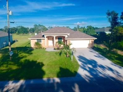 4133 SW Utterback Street, Port Saint Lucie, FL 34953 - MLS#: RX-10462545
