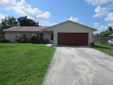 1098 SW Janette Av Avenue, Port Saint Lucie, FL 34953 - MLS#: RX-10462748