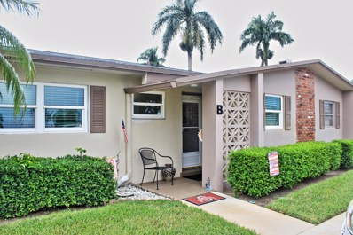 2633 Barkley Drive E UNIT B, West Palm Beach, FL 33415 - MLS#: RX-10462781