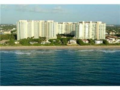 3720 S Ocean Boulevard UNIT 810, Highland Beach, FL 33487 - MLS#: RX-10463070