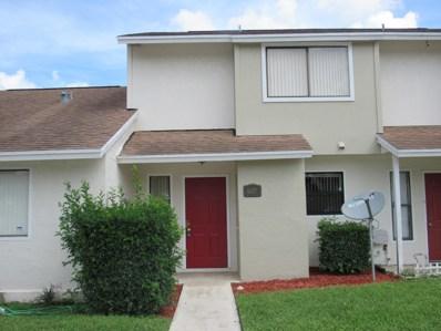 6107 Channel Drive UNIT 6107, Greenacres, FL 33463 - MLS#: RX-10463279