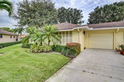 9765 Tabebuia Tree Drive UNIT A, Boynton Beach, FL 33436 - MLS#: RX-10463383