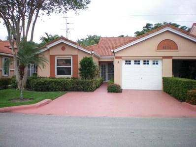 9904 Summerbrook Terrace UNIT A, Boynton Beach, FL 33437 - #: RX-10463553