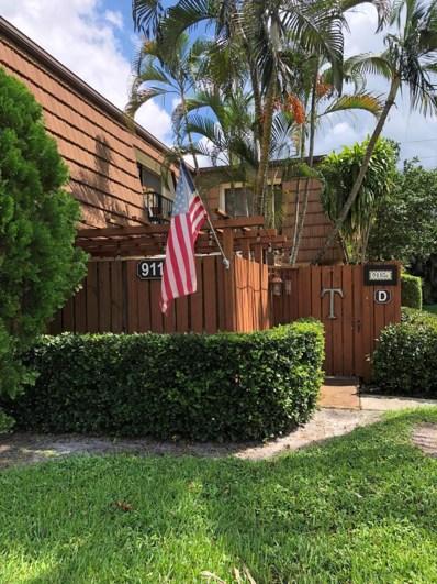 9116 SW 20th Court UNIT D, Davie, FL 33324 - #: RX-10463852