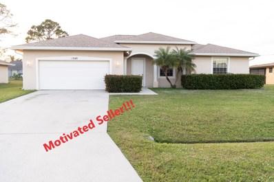 1340 SE Ladner Street, Port Saint Lucie, FL 34983 - MLS#: RX-10463861