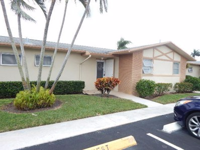 2832 Crosley Drive W UNIT F, West Palm Beach, FL 33415 - MLS#: RX-10463881