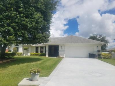 1313 SW Wellington Avenue, Port Saint Lucie, FL 34953 - #: RX-10464009