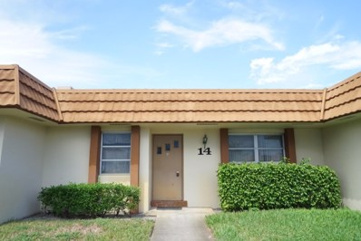 5730 Fernley Drive E UNIT 14, West Palm Beach, FL 33415 - MLS#: RX-10464139