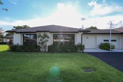 4882 Equestrian Circle UNIT A, Boynton Beach, FL 33436 - MLS#: RX-10464140