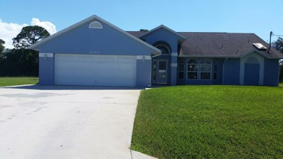 1490 SW Merchant Lane, Port Saint Lucie, FL 34953 - MLS#: RX-10464641