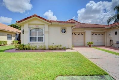 1668 Wood Fern Drive, Boynton Beach, FL 33436 - MLS#: RX-10464767