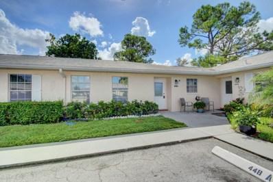 448 Franconia Circle UNIT A, Lake Worth, FL 33467 - MLS#: RX-10464939